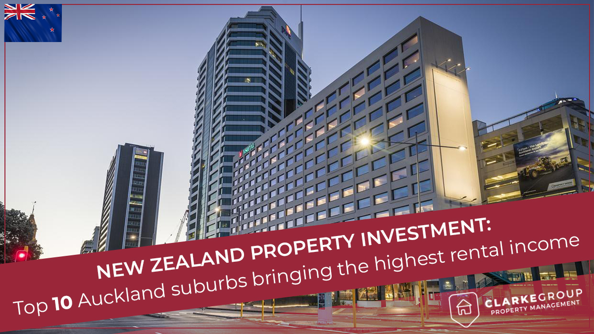 Top 10 Auckland suburbs bringing the highest rental income